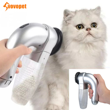 VOVOPET Pet Cat Vacuum Cleaner Brush Electric Portable Massage Fur Hair Removal Grooming Tools