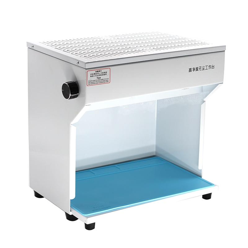 Alfombra de escritorio de silicona con aislamiento térmico y Plataforma de mantenimiento antiestático a prueba de polvo para Estación de Reparación de soldadura BGA - 3