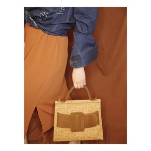 Image 3 - KAOGE มังสวิรัติธรรมชาติ Cork กระเป๋าสตรี Handmade กระเป๋า Antifouling กระเป๋าถือกระเป๋าสุภาพสตรีกระเป๋า