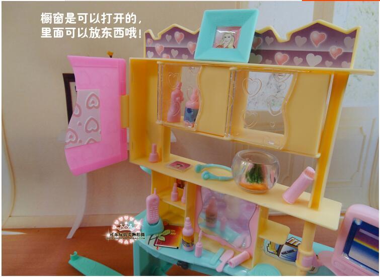 Novi dizajn lutka ormarić set / Dollhouse namještaj za spavaće - Lutke i pribor - Foto 6