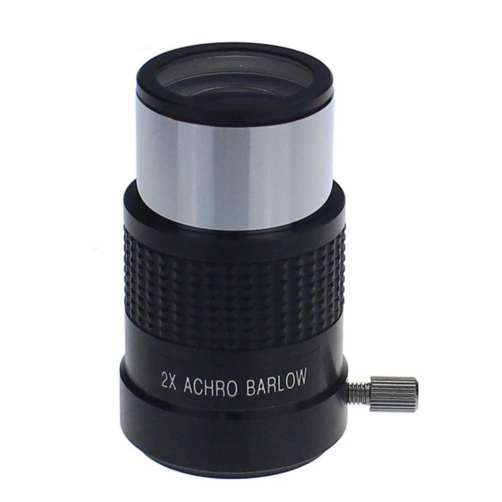 lens professional eyepiece standard 1.25Inch 2X Achro Barlow Lens for astronomic telescope Monocular Binocular  цены