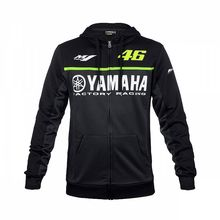 2017 Valentino Rossi VR46 pour Yamaha Racing Bleu MotoGP Hommes FELPA Zip-up Chandail