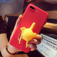 10pcs Lot Wholesale 3D Cute Pappy Squishy Vent Chick Case For Iphone 6s Case Silicone Cover