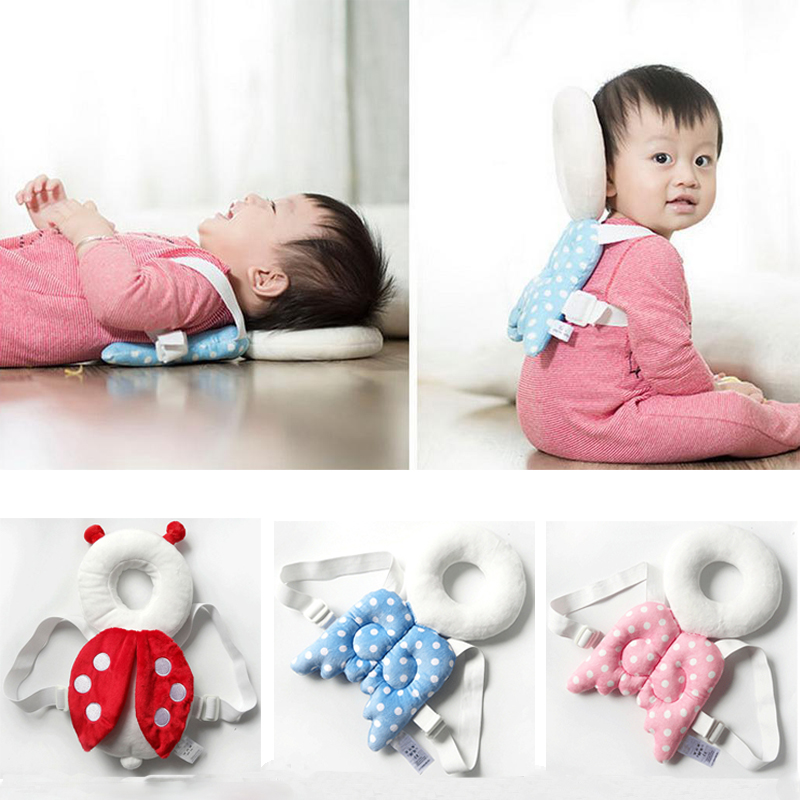 Baby Infant Head Back Protector Safety Pad Harness Headgear Baby Pillow Drop Resistance Newborn Walking Head Corner Protection