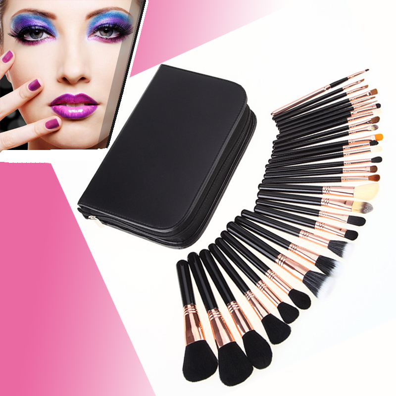 29 pcs Professional Makeup Brushes Complete Kit Extravganza Copper Kit Collection pinceis maquiagem secret warriors the complete collection volume 1