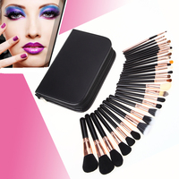 29 Pcs Professional Makeup Brushes Complete Kit Extravganza Copper Kit Collection Pinceis Maquiagem