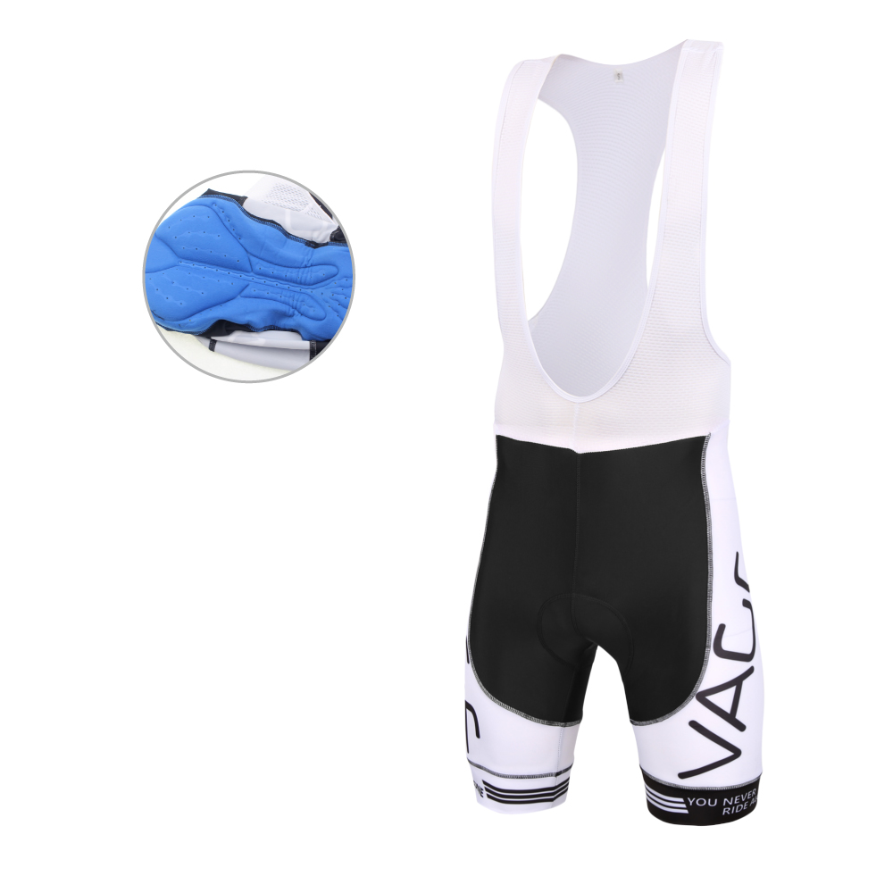 High Compress lycra bib sykkel shorts / menn 3d gel polstret Coolmax unisex sykkel bibs knicks / pro team road cycling bibs shorts