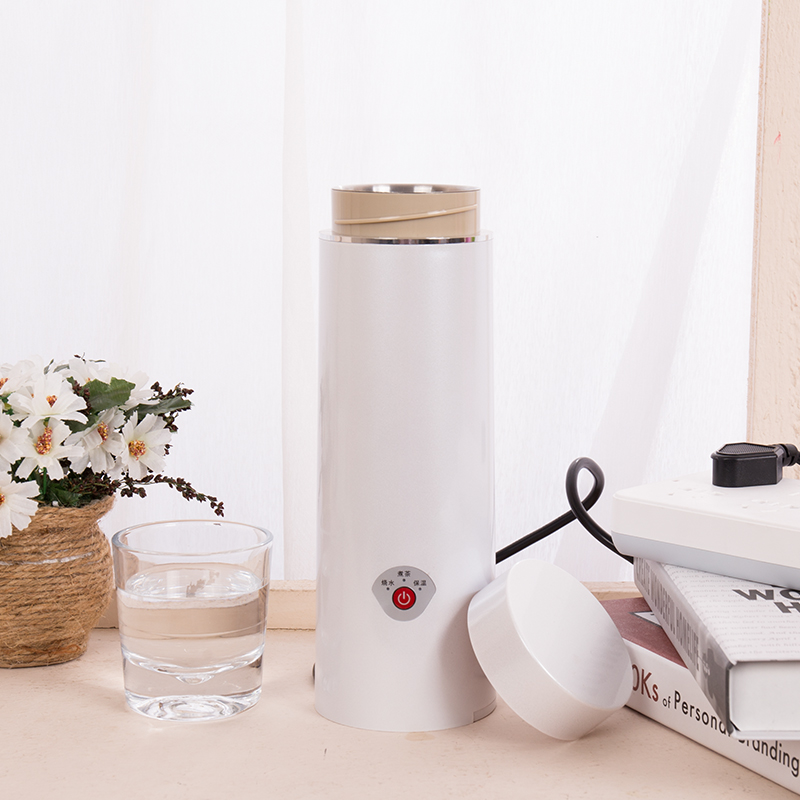 Portable boiling electric kettle mini smart kettle samovar water boiler Stainless steel teapot thermos kettle water thermal heat