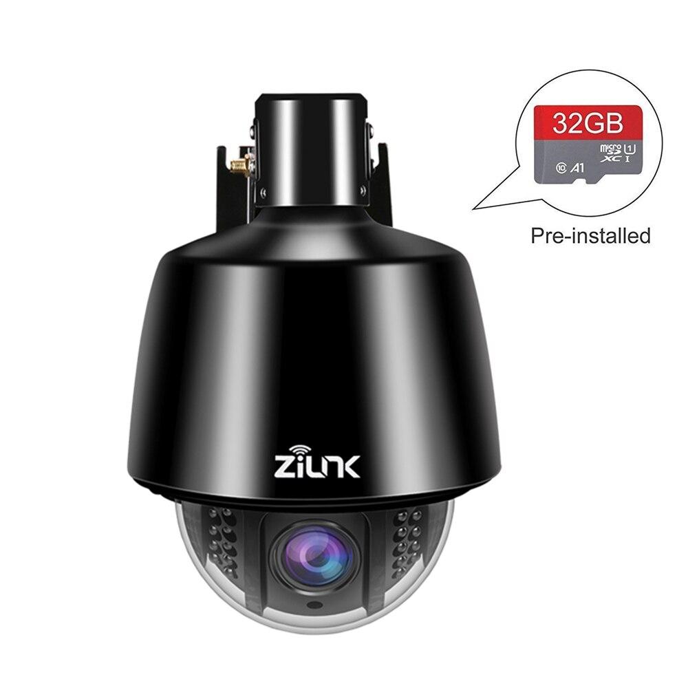 HI3516C + SONY IMX323 caméra de sécurité sans fil extérieure HD 1080 P 960 P WIFI PTZ caméra IP 5X Zoom mise au point automatique 2.7-13.5mm Onvif CamHi
