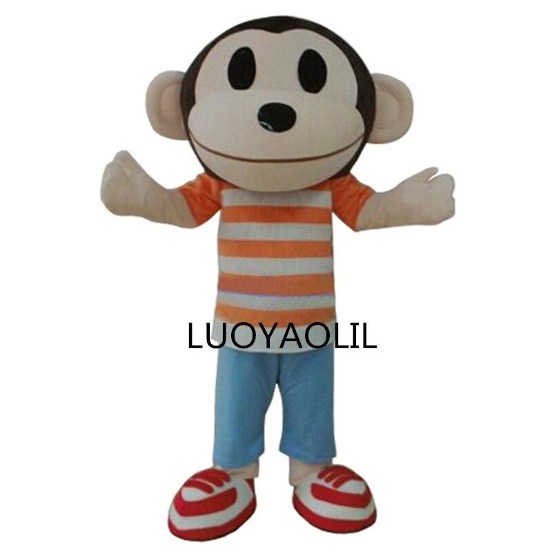 Foarte lumina maimuță Adult animale Cartoon Caracter Mascot Costum - Costume carnaval