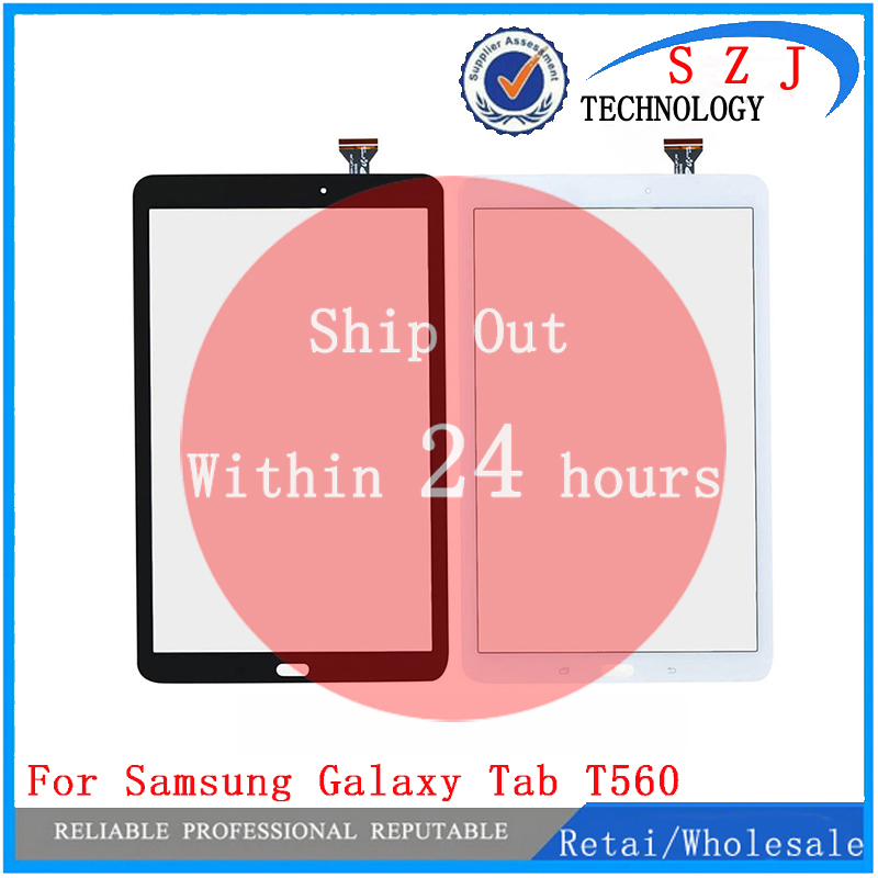 New 9.6 inch For Samsung Galaxy Tab E 9.6 SM-T560 T560 Touch Screen Panel glass Digitizer with flex cable Free ShippingNew 9.6 inch For Samsung Galaxy Tab E 9.6 SM-T560 T560 Touch Screen Panel glass Digitizer with flex cable Free Shipping