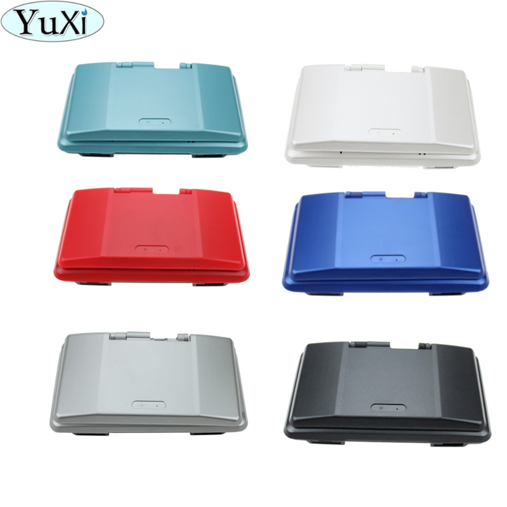YuXi 7 Colors Optional Replacement Shell Housing Cover Case Full Set for Nintend DS for NDS