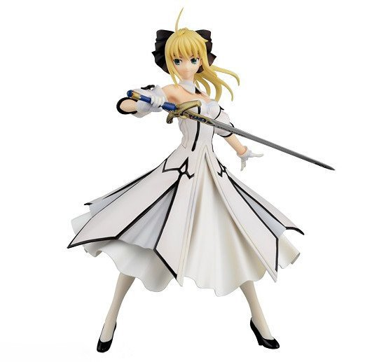 NEW hot 18cm Fate/stay night saber Artoria Pendragon (Lily) action figure toys collection Christmas gift with box new hot 23cm fate stay night saber arturia pendragon christmas installed action figure toys collection christmas gift with box