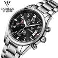 Luxury Brand Stainless steel Strap Analog Display Date Men's Quartz Watch Casual Watch Men Watches relogio masculino