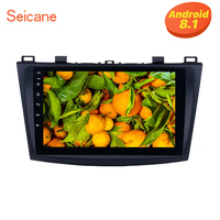 Seicane 9 inch Touch Screen Android 8.1 DVD Player Car Radio for 2009 2010 2011 2012 MAZDA 3 with GPS Sat Nav Bluetooth WIFI USB
