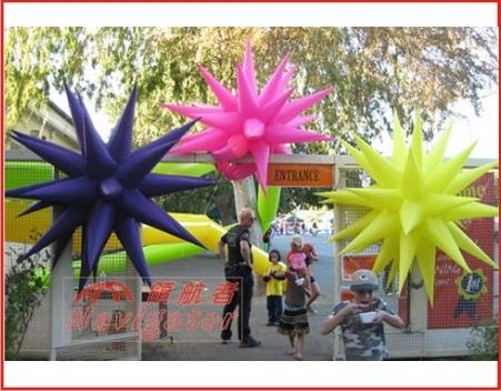 Colorful Inflatable Star for Party Decoration inflatable party sun decoration inflatable light star