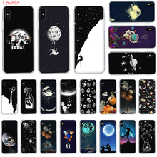 Lavaza Newest Space Moon Astronaut Hard Phone Case for Apple iPhone 6 6s 7 8 Plus X 5 5S SE XS Max XR Cover