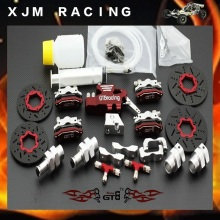 GTB Racing Upgrade parts,4 wheel hydraulic disc brake for 1/5 rc car baja 5b/5t/5sc