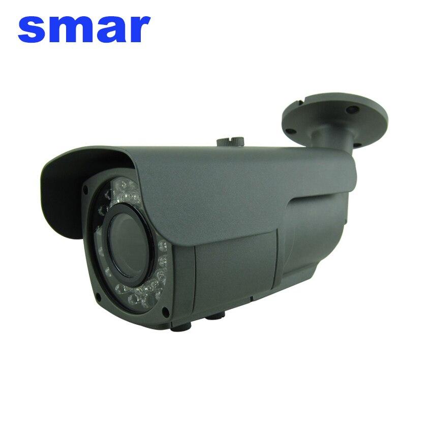 imágenes para Smar centrándose de metal a prueba de agua ip 66 1080 p ahd cámara cctv 2.8-12mm lente de zoom 2.0mp cámara de vigilancia filtro de corte ir