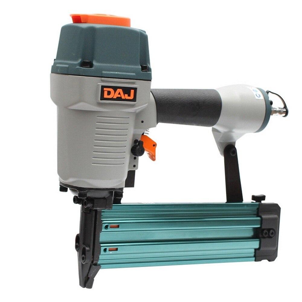 F50 T50 440K 3 in 1 Carpenter Pneumatic Nail Gun Adjustable Home DIY Woodworking Air Stapler Carpentry Decoration Power Tool in Nail Guns from Tools