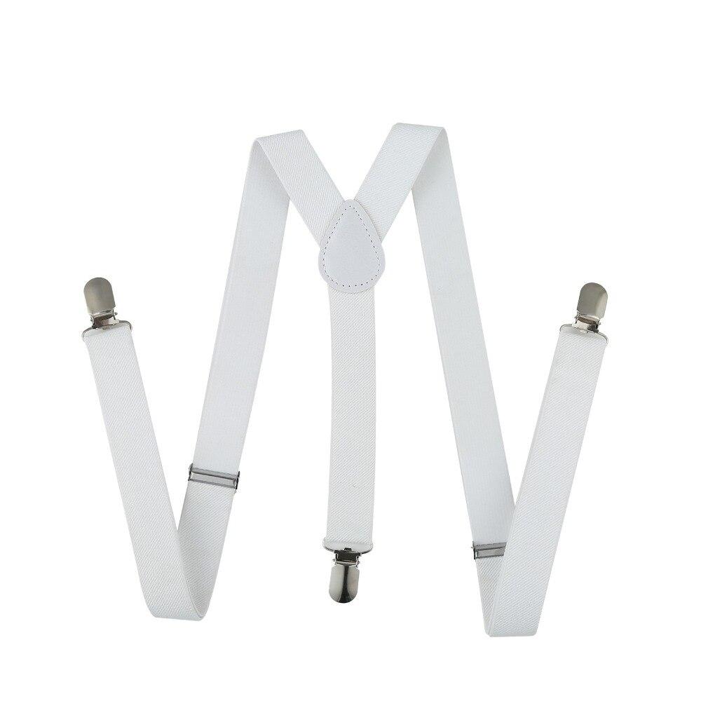 Trouser Braces Men Suspenders Women Jeans Pants Clip On Braces Elastic Accessory