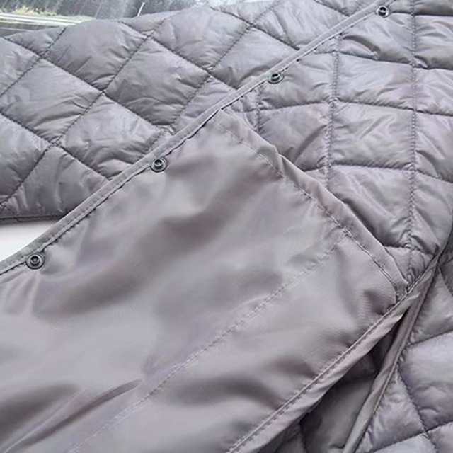 A31 Autumn Winter Casual Parkas 4XL Plus Size Women Clothing Fashion Loose Thin and light Padded Coats 048