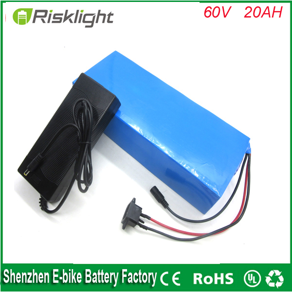 60v electric bike lithium ion battery 60V 20AH 2000W ...