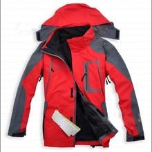 ESDY hommes de ski vestes avec Doux polaire veste à l'intérieur résistant à l'eau/respirant shell pour la randonnée camping Activités de plein air