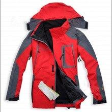 ESDY hombres chaqueta chaquetas de esquí con Suave forro polar interior resistente al agua/transpirable shell para Actividades de senderismo acampar al aire libre