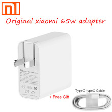 Original xiaomi 65w USB C power adapter routing home schnelle ladung lade mobile computer ladegerät tragbare typ c interface