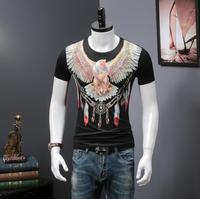 Men's T Shirts 3D Printing Summer Short Tees Casual Short Sleeve Luxury design Men T shirt G963