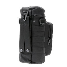 Outdoors Molle Water Bottle Pouch Tactical Gear Kettle Waist Shoulder