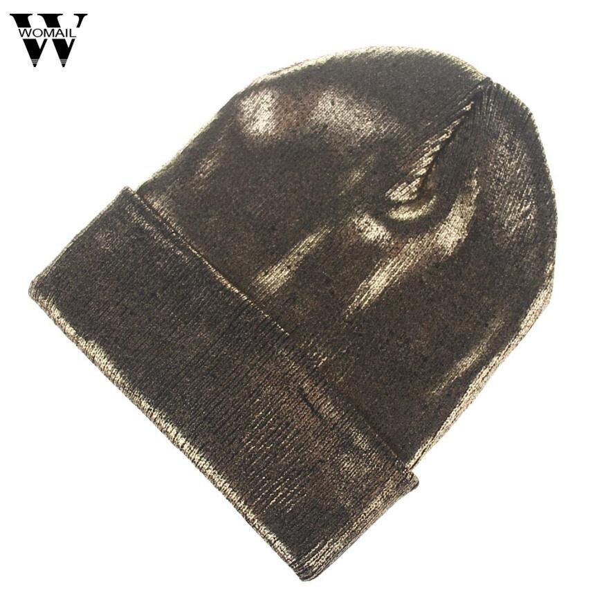 2017 Fashion Women Men Winter Warm Knit Crochet Ski Hat Braided Turban Headdress Cap hot winter beanie knit crochet ski hat plicate baggy oversized slouch unisex cap