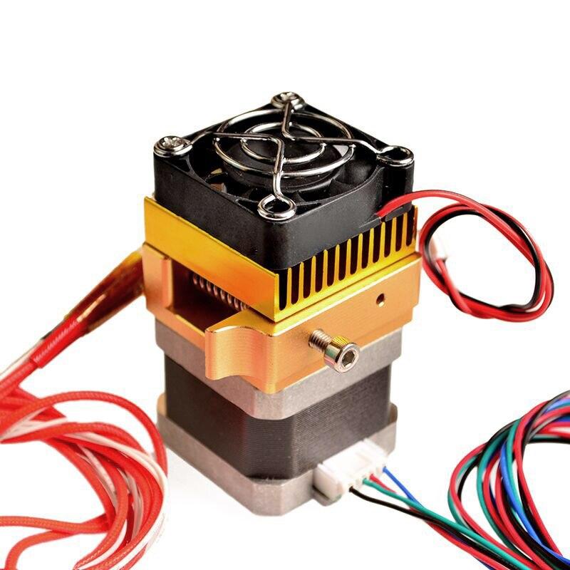Newly 3D Printer Accessories MK8 Metal Kit Extruder Head 0.4mm Nozzle Print Head 1.75mm Filament