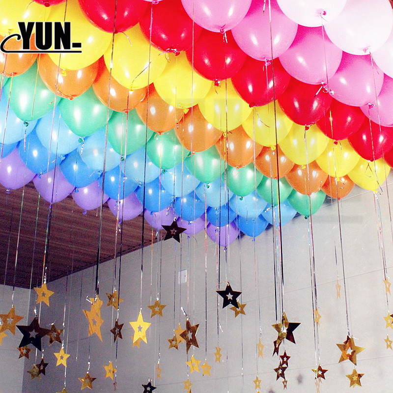 50Pcs Mixed Balloons Birthday Party Decoration Kids Adult Balloon Air Ball Birthday Ballon Decoration Baloon 5D (27)