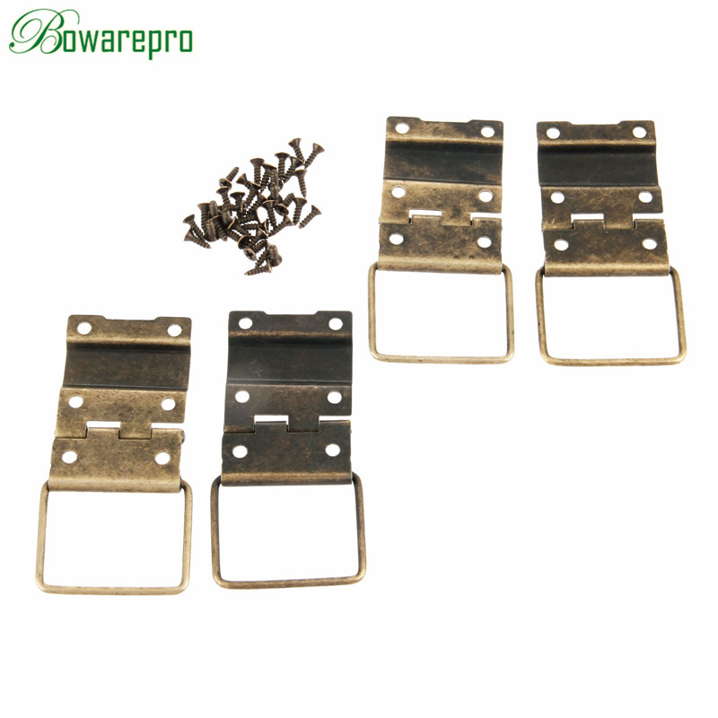 bowarepro 29*45mm Cabinet Hinges Furniture Accessories Door Hinges Drawer Jewellery Box Hinges For Furniture Hardware 4PCS