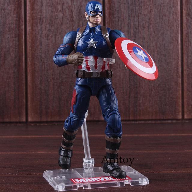 Marvel Action Figures Captain America 3 Civil War 17.5cm