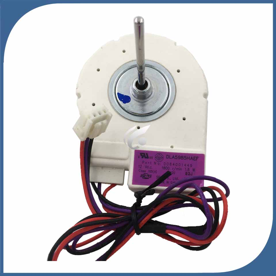 new for refrigerator ventilation fan motor 12V 0064001449 DG8-013A12MA BCD-290WX BCD-320WK DLA5985HAEF reverse rotary motor anti clockwise refrigerator ventilation fan motor shangling yzf 1 6 5 r reverse rotary motor