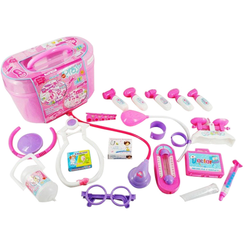 Toy Tool Kits For Girls : New sale children s simulated medical doctor tool box toys
