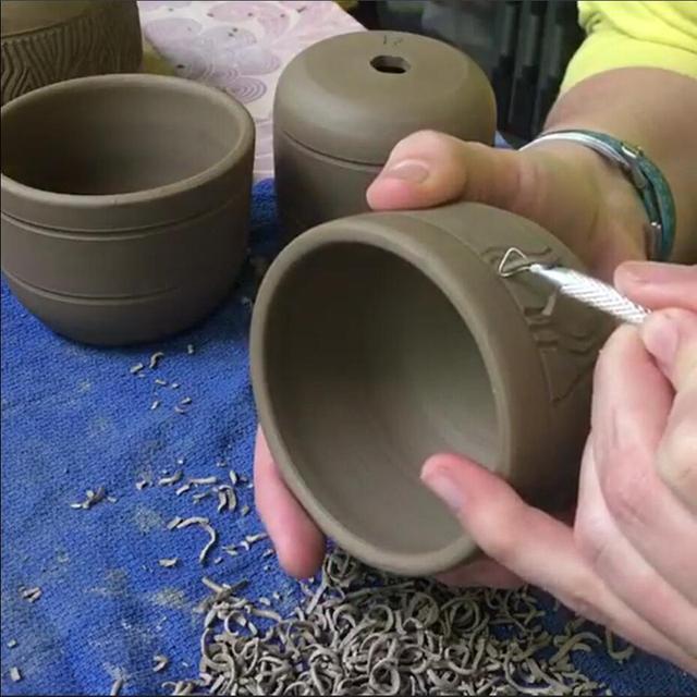 6 PCS Clay, Pottery, Ceramics Sculpting and Carving Tools Set