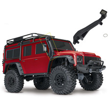 1:10 RC Crawler Rubber Safari Snorkel for 1/10 Scale Traxxas TRX-4 T4 RC Climbing Truck  Accessories
