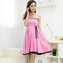 Free Shipping2016 New  summer style Nightgown Nightdress pijama Ladies Sleepwear Women nightwear AZ560