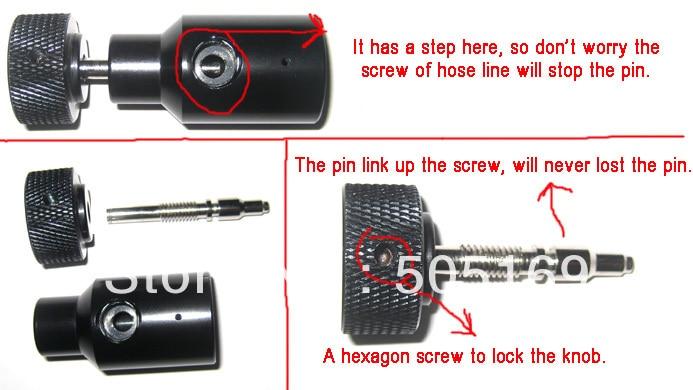 PCP airgun paintball markör tillbehör Paintball CO2 cylinder - Skytte - Foto 2