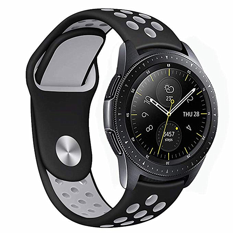 22mm 20mm Silicone Strap For Samsung Galaxy Watch 46mm 42mm Active 2 44mm Gear S3 S2 Frontier Band For Huawei Watch GT 2 2e 46mm