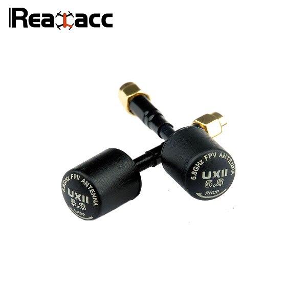 D'origine Realacc UXII 5.8G 1.6dBi RHCP/LHCP TX/RX FPV Antenne SMA/RP-SMA Mâle Pour RC multirotor quadrirotor de Rechange Partie Bricolage