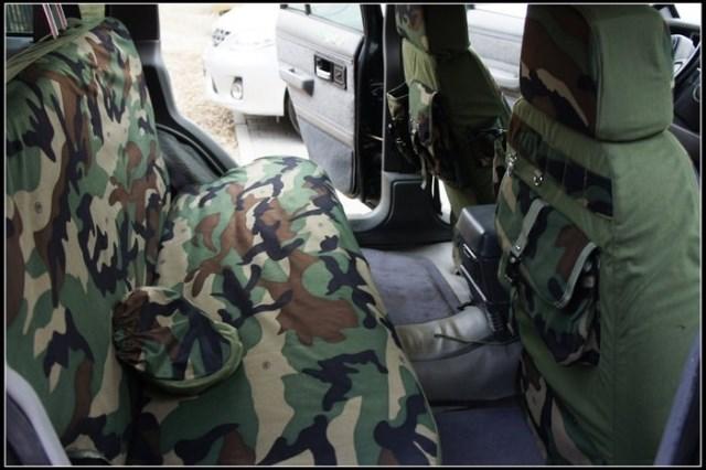 Nuevos modelos de fundas de camuflaje de invierno para asientos todoterreno para Hyundai ix30/35 Sonata ELANTRA Terracan tufson