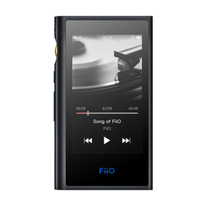 Image 1 - Fiio M9 ポータブル高解像度オーディオプレーヤー AK4490EN * 2 wifi bluetooth DSD128 usb オーディオ usb dac spdif 出力