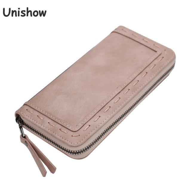 Fashion Brand purse women long  thread wallet female zipper wallet Clutch large capacity money purse bag
