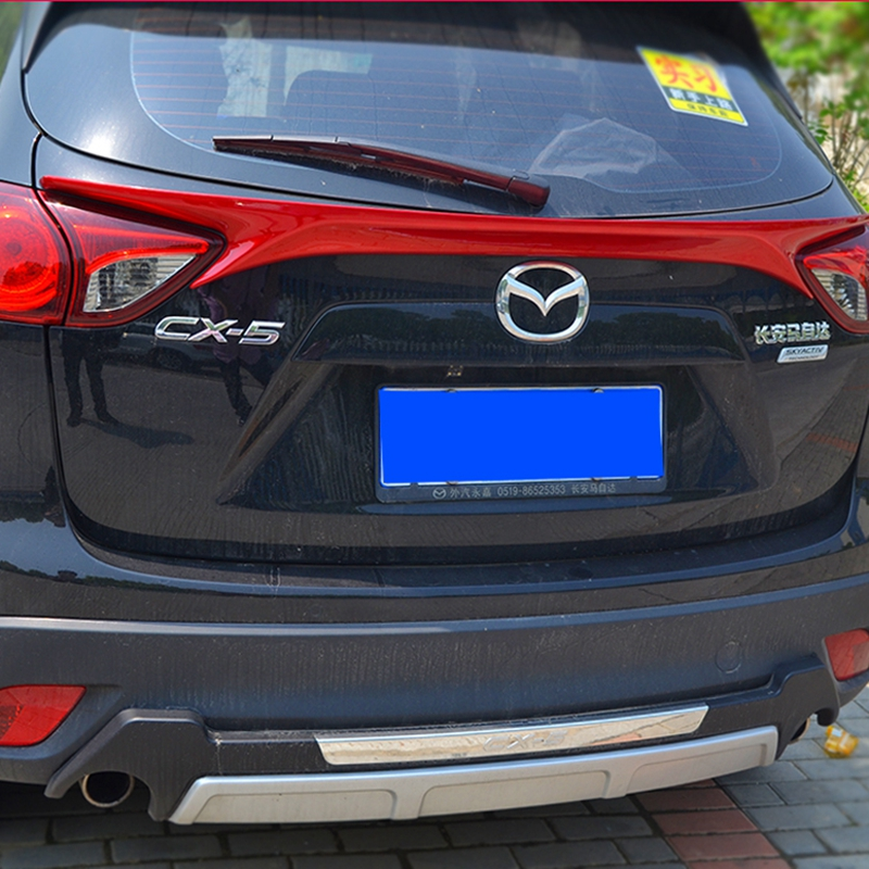 CX-5 ABS Unpainted Primer Rear Middle Spoiler Wing for Mazda CX 5 2012-2016