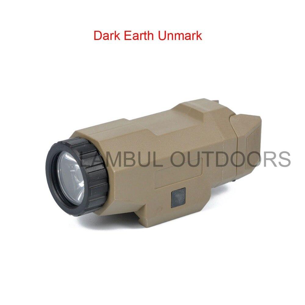 Tactical scout luz pistola luz compacto apl